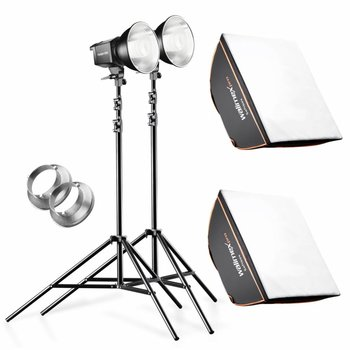 walimex pro Daylight 2er Set 250S+ Softbox+ Stativ