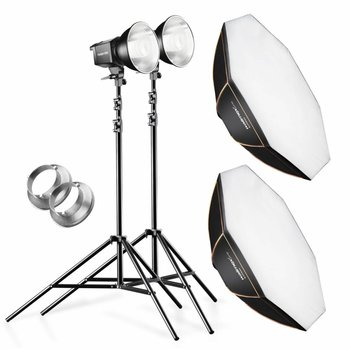walimex pro Daylight 250 Set+ Octa Softbox + Statieven