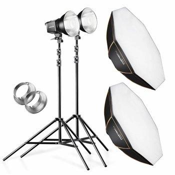 walimex pro Set Daylight 250S+Octagon+tripod