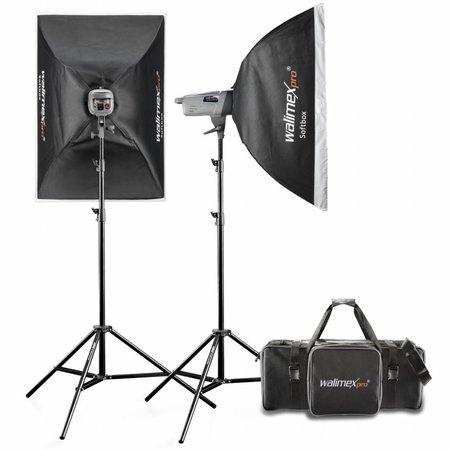 walimex pro Studio Lighting Kit VE 200/200