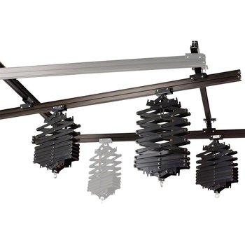 walimex Ceiling Rail System 4x3m, w. 3 pantographs