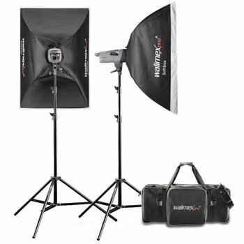 walimex pro Studio Lighting Kit VE 400/400