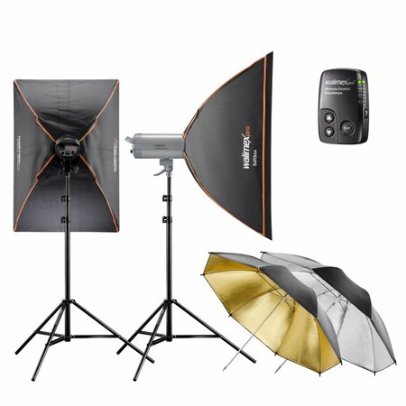 walimex pro Studio Lighting Kit VC Excellence Classic 10.6