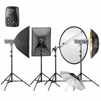 walimex pro Studioblitz Set VC-400/400/300 Excellence