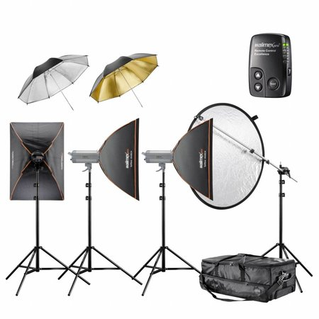 walimex pro Studio Lighting Kit VC Excellence Classic 4.4.5