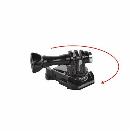 mantona GoPro Schnellspann Schnallen Set 360 Grad
