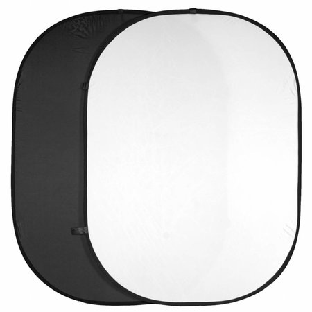 walimex Two-pack Foldable Backgrounds black/white