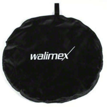 walimex set van 2 Opvouwbaar Achtergronds Zwart/Wit