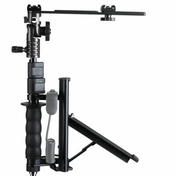 walimex Flip Flash Bracket with TELESCOPIC Arm