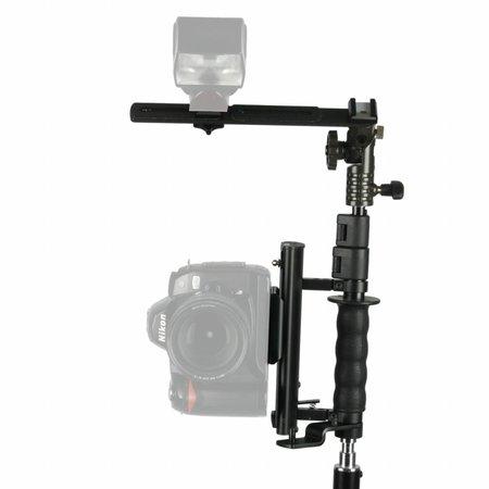 walimex Flip Flash Bracket with TELESCOPIC Arm