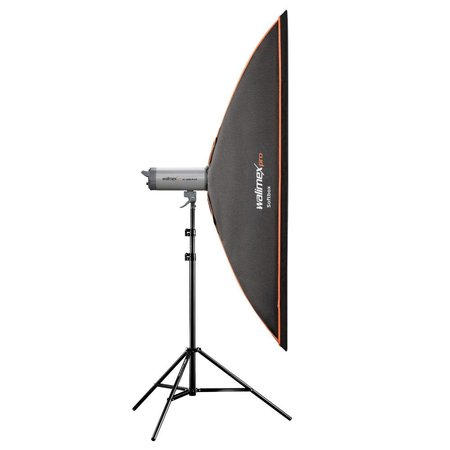 walimex pro Softbox Orange Line 25x180