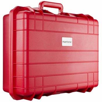 mantona Outdoor Beschermkoffer  L, rood