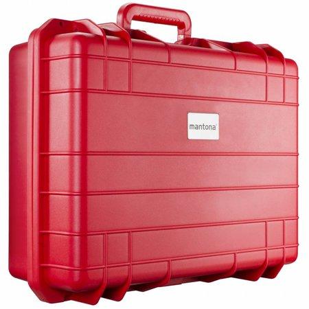 mantona Outdoor Schutz-Koffer L, rot