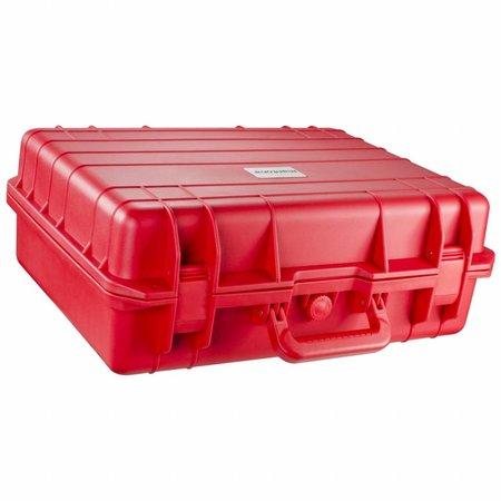 mantona Outdoor beschermhoes L, rood