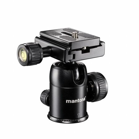 mantona Camera Tripod Travel DSLM with Ball Head