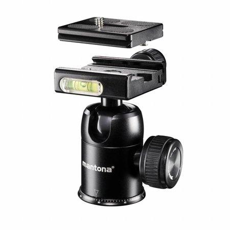 mantona Travel Camera Statief DSLM en Balhoofd