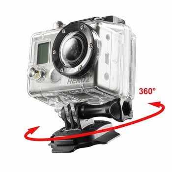 mantona 360° mounting plate 3M for GoPro