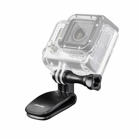 mantona Mini-Clamp incl. screw long for GoPro Hero
