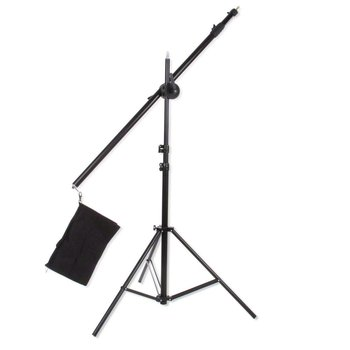 walimex Boom Tripod w. Counterweight, 120-220cm