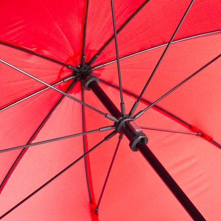 walimex pro Swing Handenvrij Paraplu Rood met Draagsysteem
