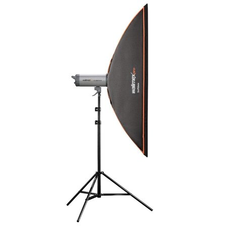 walimex pro Softbox OL 25x150cm for various brands