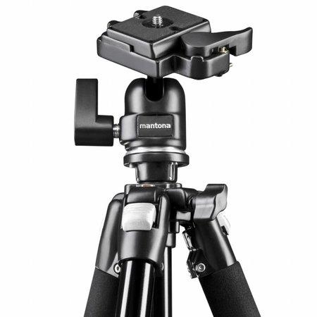 mantona Camera Tripod Scout Max Set Makro Photography