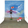 walimex pro Studio Achtergronddoek 'Love-Letter' 3x6m
