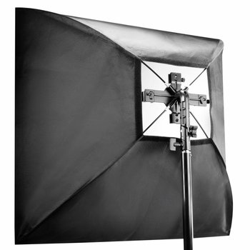 walimex Set 4f. Blitzhalter inkl. Softbox 90x90cm