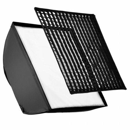 walimex Set 4f. Blitzhalter inkl. Softbox 90x90cm