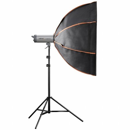walimex pro Octagon Softbox PLUS Orange Line 120