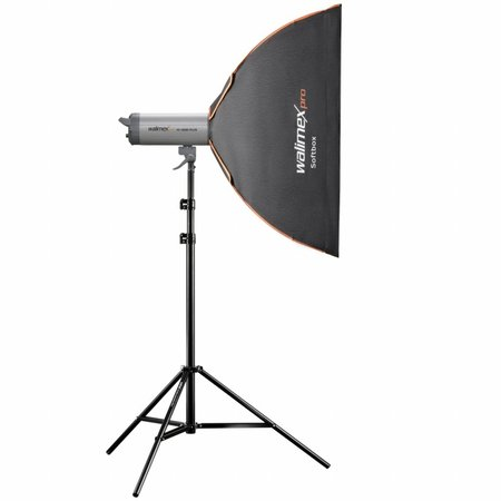 walimex pro Softbox PLUS Orange Line 90x90