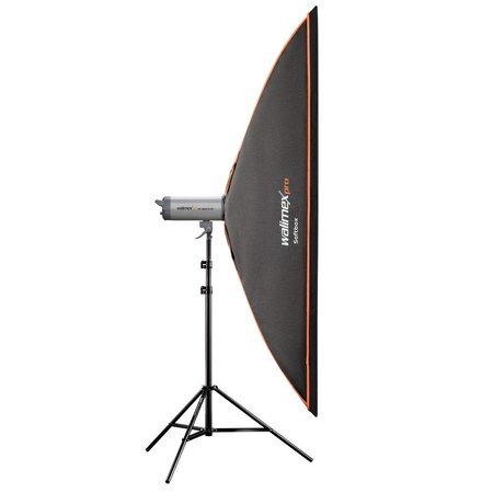 walimex pro Softbox Orange Line 60x200