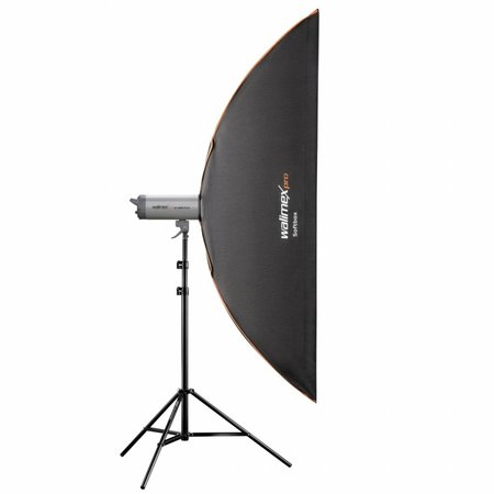 walimex pro Softbox PLUS Orange Line 25x180