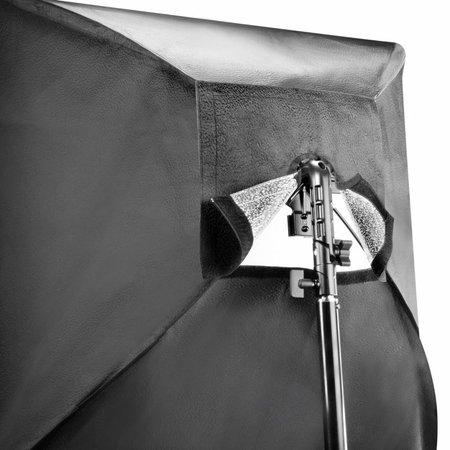 walimex Set 4 Flash Holder, SB 60, Umbrella white
