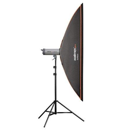 walimex pro Softbox OL 40x180cm für verschiedene marken