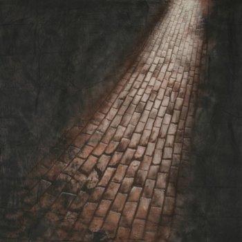 walimex pro Motiefdoek Achtergrond 'Straat', 3x6m