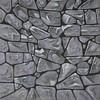 walimex pro Studio Achtergronddoek 2 in 1 2 in 1 'Stones', 3x6m