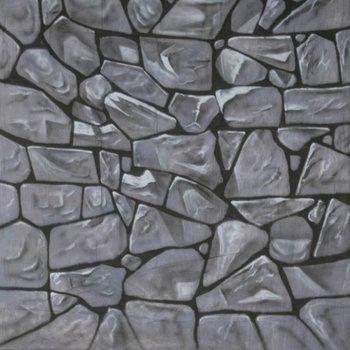 walimex pro Motiefdoek Achtergrond 'Stenen', 3x6m