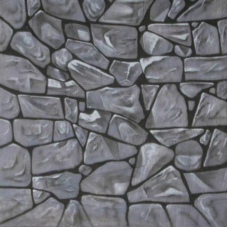 walimex pro Motiv-Stoffhintergrund 'Stones', 3x6m