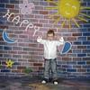 walimex pro Motif Cloth Background 'Happy', 3x6m