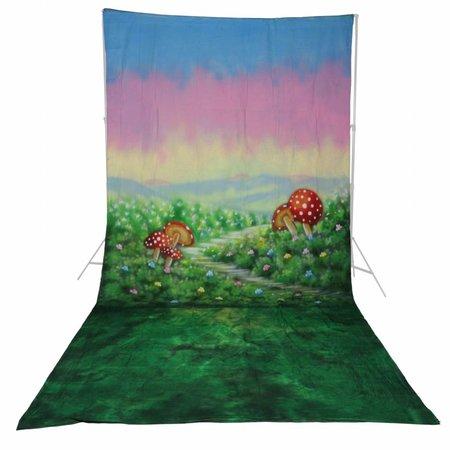 walimex pro Motif Cloth Background 'Alice', 3x6m