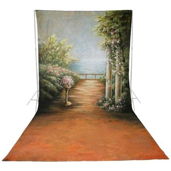 walimex pro Motif Cloth Background 'Romance', 3x6m