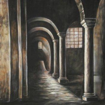 walimex pro Motiefdoek Achtergrond 'Gothic', 3x6m