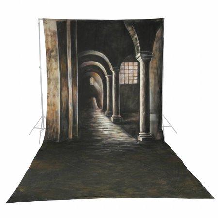 walimex pro Motif Cloth Background 'Gothic', 3x6m