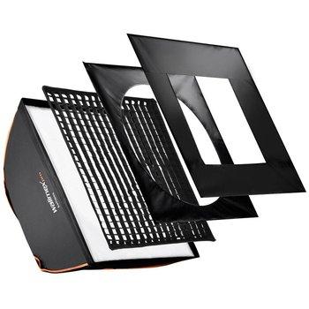 walimex pro Softbox Vierkant PLUS OL 90x90cm | Diverse merken