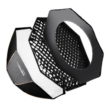 walimex pro Octa Softbox Plus OL 120 | For various brands speedring