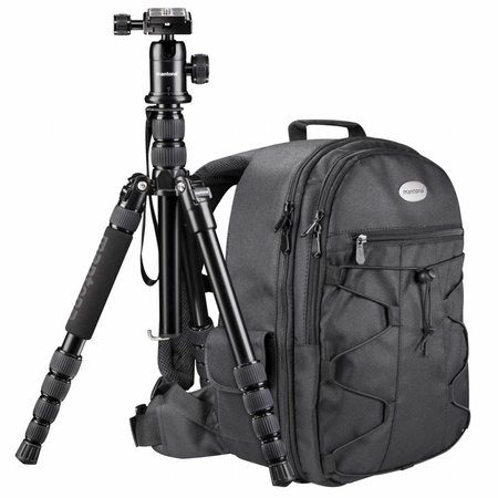 mantona Travel Camera statief + Rugzak Set