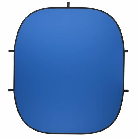 walimex pro Opvouwbare Studio Achtergrond 200 x 230 blauw / groen