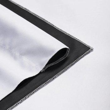 walimex pro Achtergronddoek 2 in 1/  2,85x6m Zwart / Wit