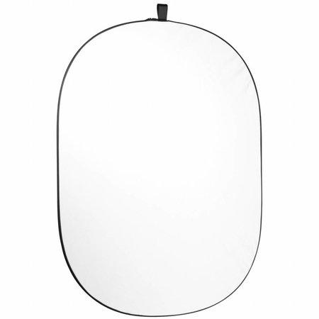 walimex pro Falthintergrund 200x230cm schwarz/weiß